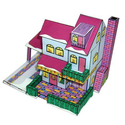 Suburban House (pink)