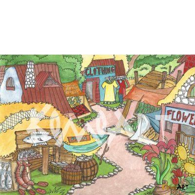 שוק בכפר